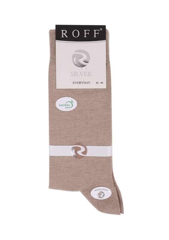 Roff Bambu Çorap 14001 | Krem - Thumbnail