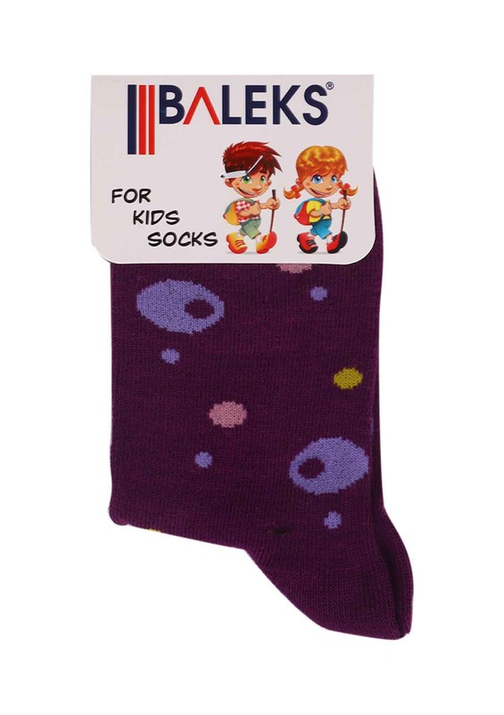 BALEKS - Baleks Soket Çorap 832 | Mor