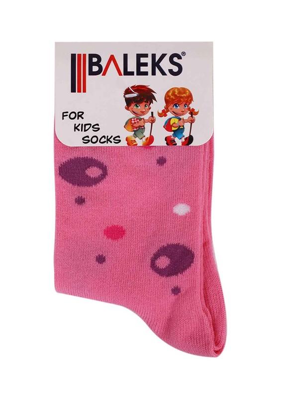 BALEKS - Baleks Soket Çorap 832 | Fuşya