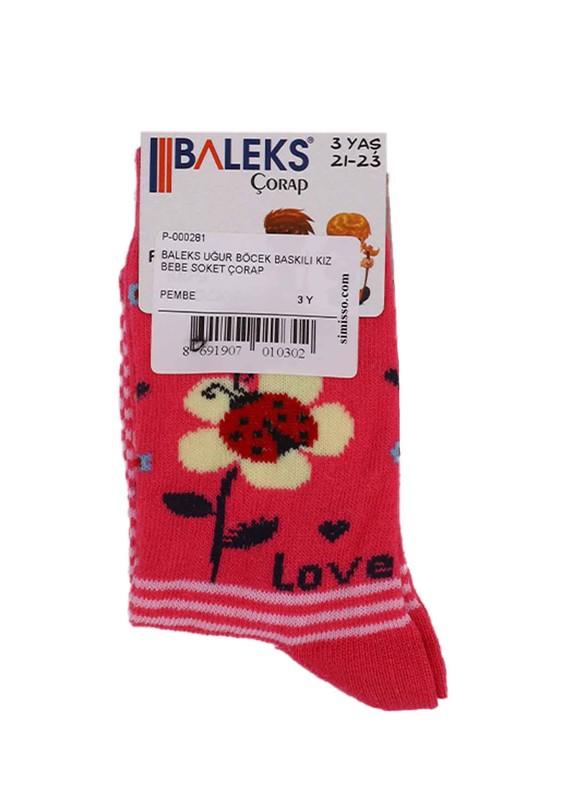 BALEKS - Baleks Soket Çorap 953 | Pembe