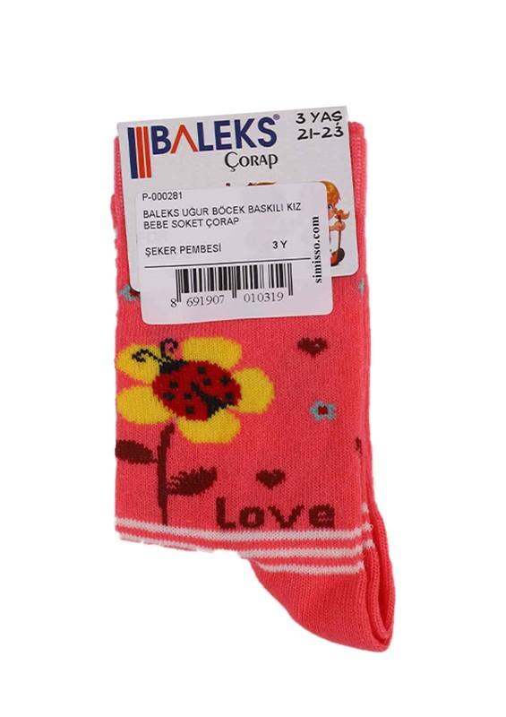 BALEKS - Baleks Soket Çorap 953 | Fuşya