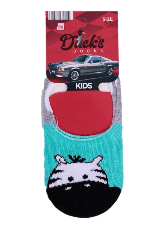 DUCKS - Ducks Çocuk Babet Çorap 9003 | Yeşil