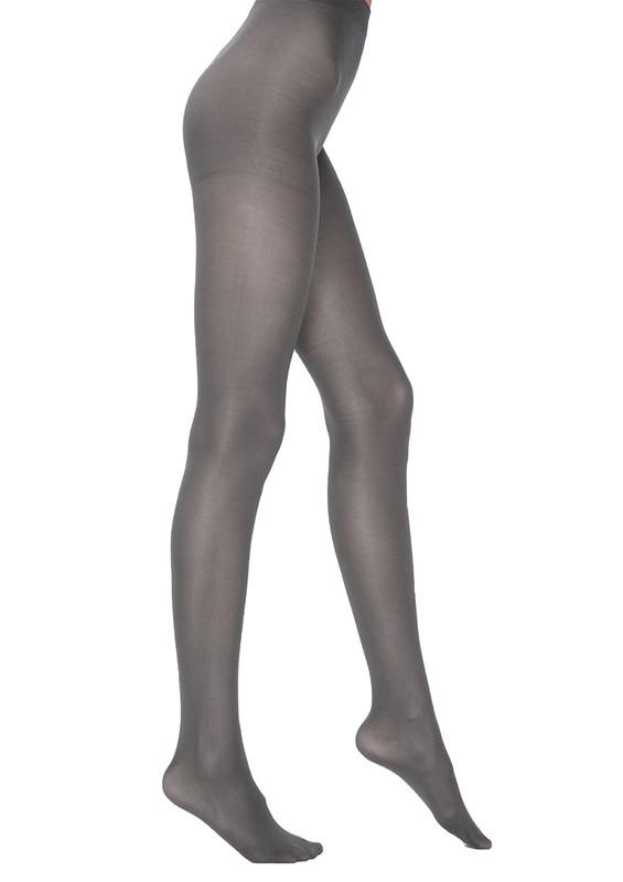 PENTİ - Penti Micro40 Mus Opak Külotlu Çorap | Gri