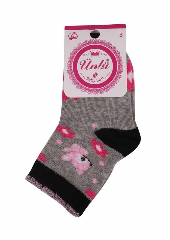 ÜNLÜ BABY - Ünlü Baby Soket Çorap 109 | Siyah