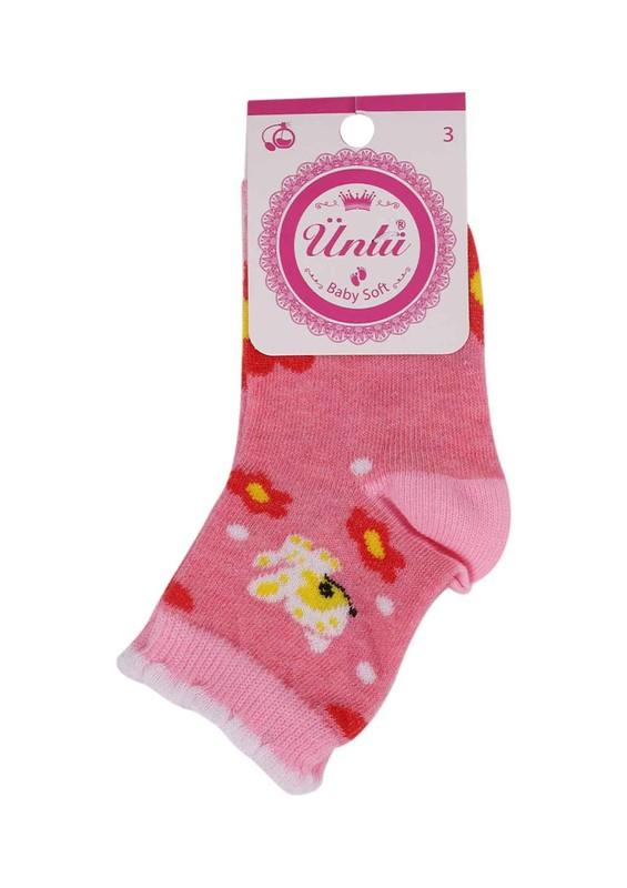 ÜNLÜ BABY - Ünlü Baby Soket Çorap 109 | Pembe