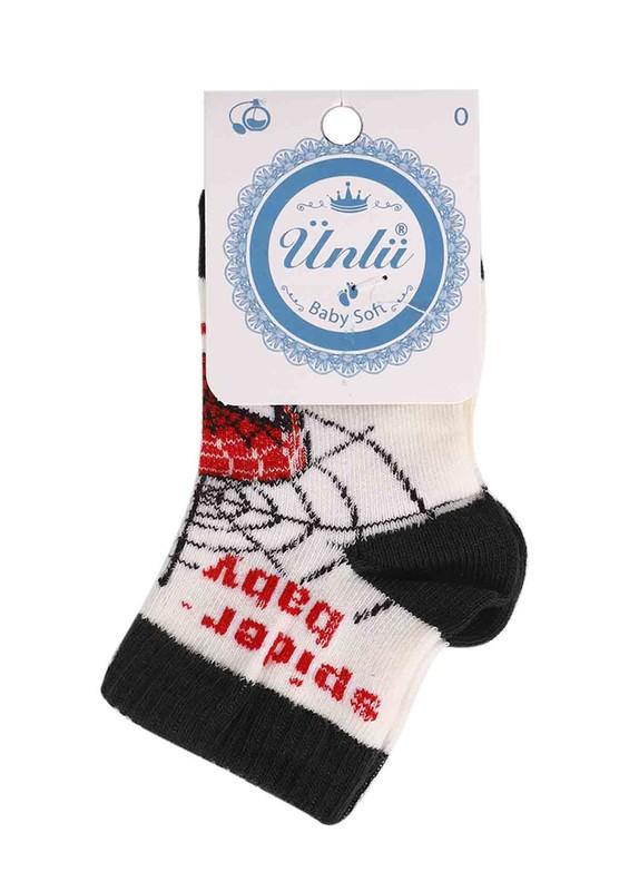 ÜNLÜ BABY - Ünlü Baby Çorap 114 | Haki