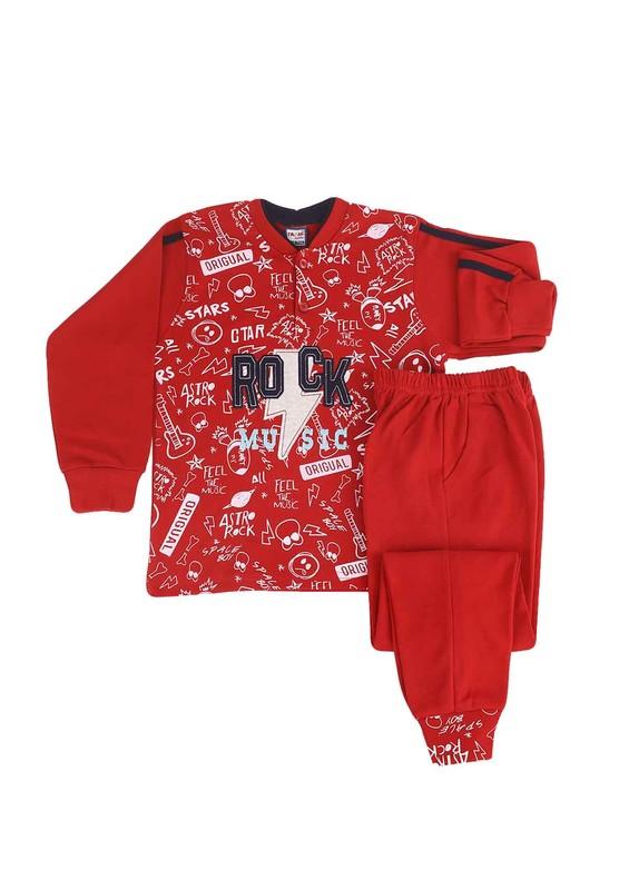 SİMİSSO - Simisso Pijama Takımı 985   Kırmızı