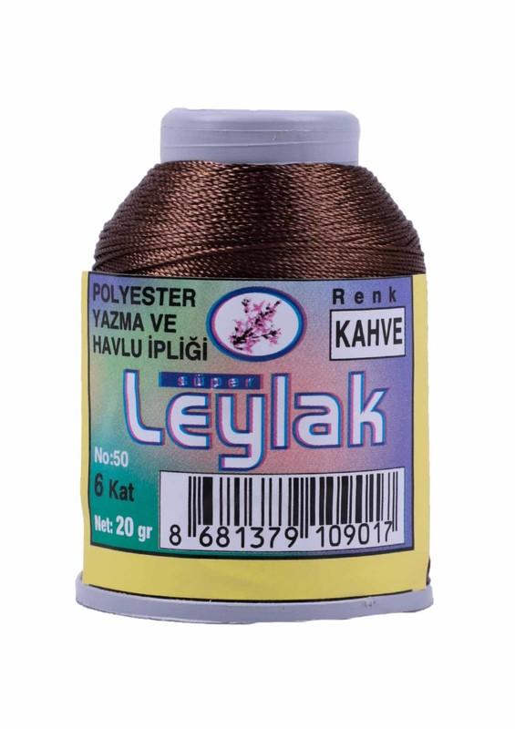 LEYLAK - Leylak Oya ve Dantel İpi 20 gr Kahverengi