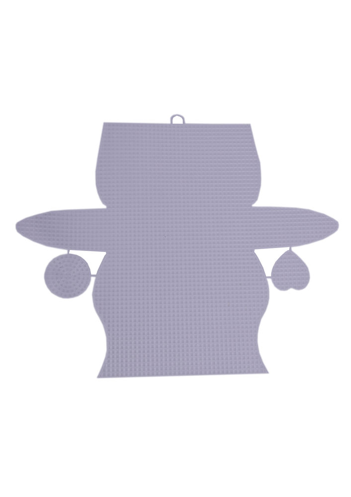 Пластиковая канва для сумок 980/белый