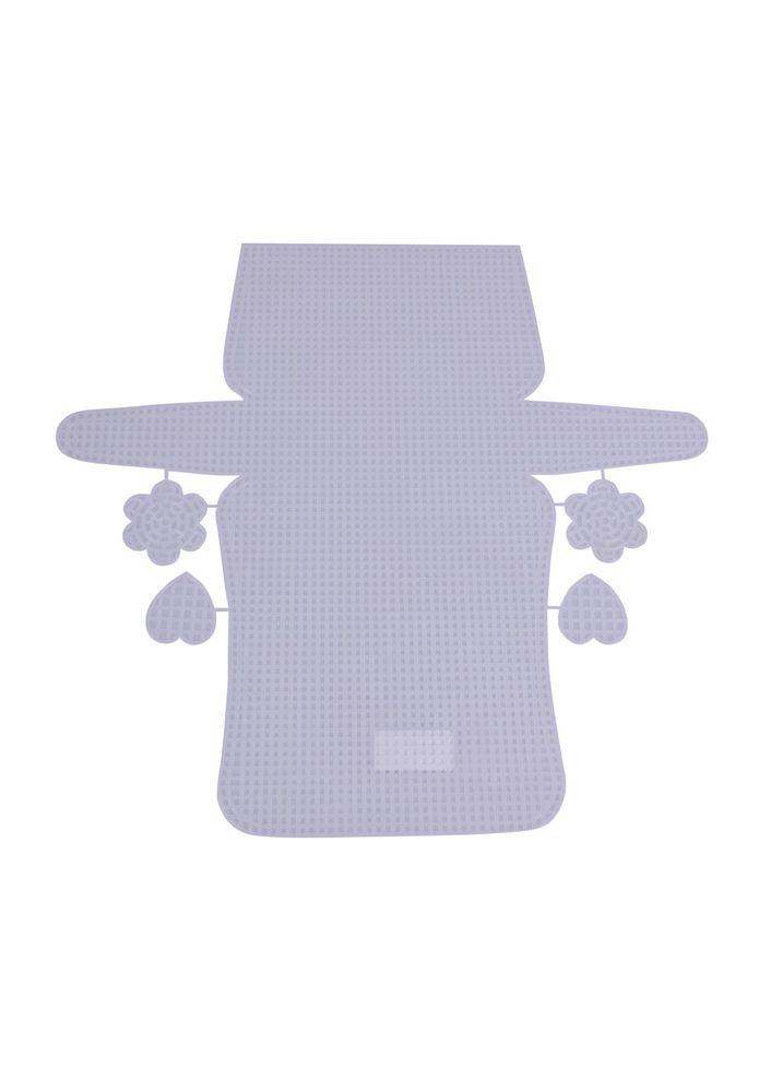Пластиковая канва для сумок 7889/белый