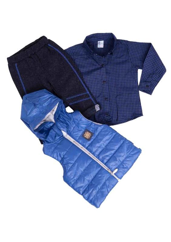 AGUMİNİ - Agumini Bebek Takımı 3 ' lü 0131 | Mavi
