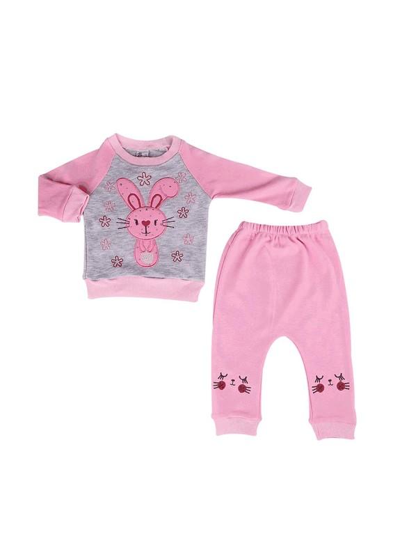 AGUMİNİ - Agumini Bebek Takımı 90057 | Bebe Pembe