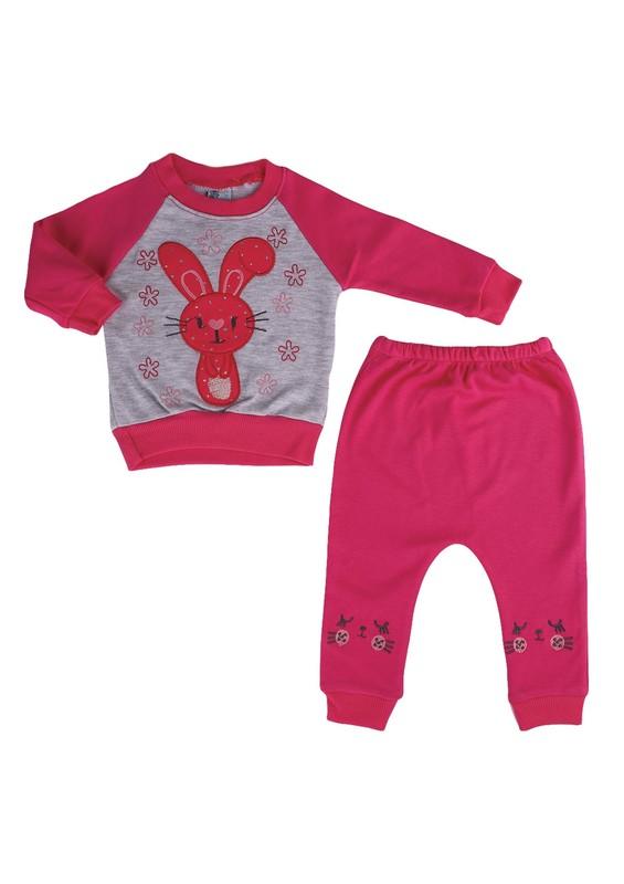 AGUMİNİ - Agumini Bebek Takımı 90057 | Pembe