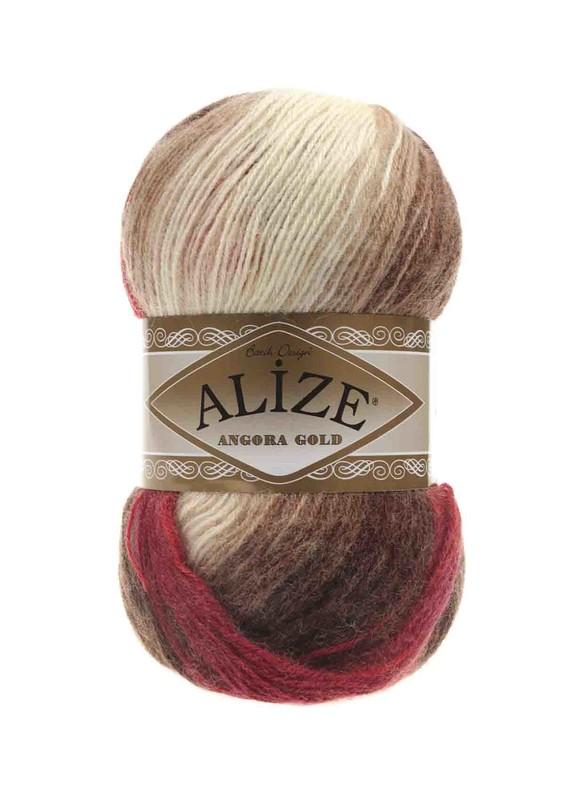 Alize - Alize Angora Gold Batik El Örgü İpi 4574
