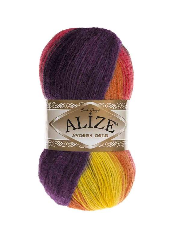 Alize - Alize Angora Gold Batik El Örgü İpi 6834