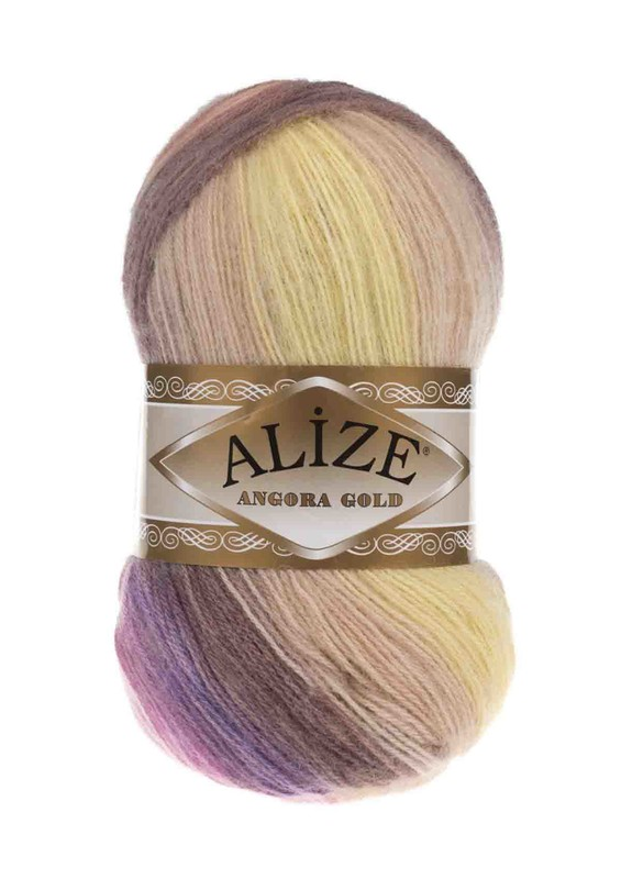 Alize - Alize Angora Gold Batik El Örgü İpi 6954
