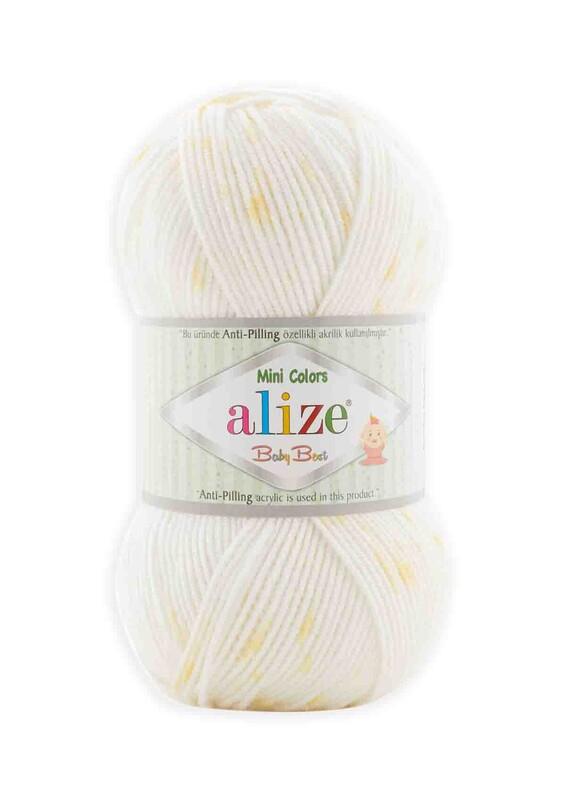 Alize - Alize Baby Best Minicolors El Örgü İpi 7266
