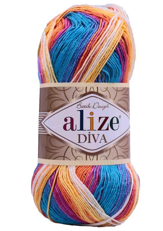 Alize - Alize Diva Batik El Örgü İpi 4538