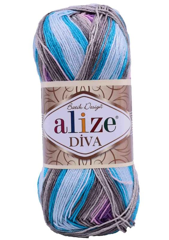 Alize - Alize Diva Batik El Örgü İpi 5553