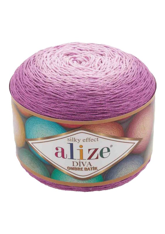 Alize - Alize Diva Ombre Batik El Örgü İpi | 7244