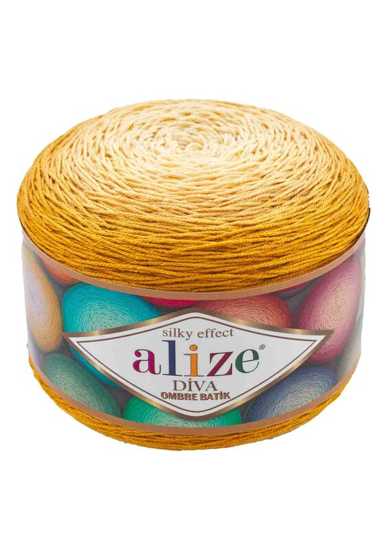 Alize - Alize Diva Ombre Batik El Örgü İpi | 7358