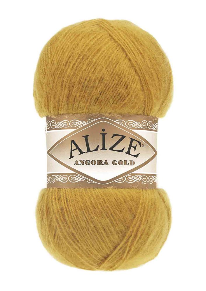 Alize Angora Gold El Örgü İpi Safran 002