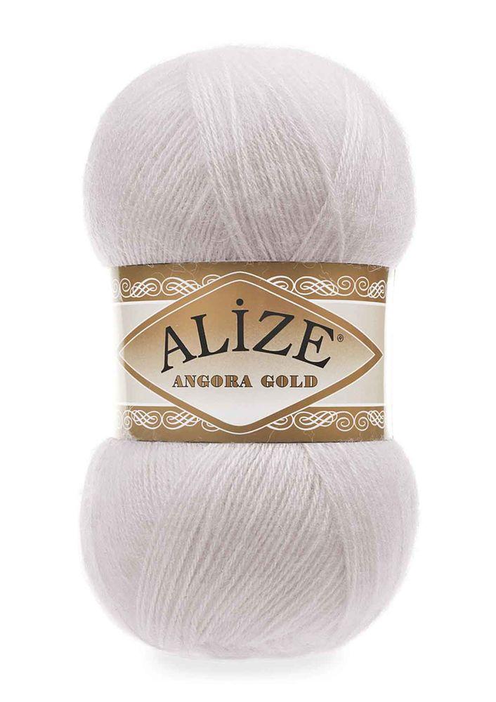 Alize Angora Gold El Örgü İpi Kış Beyazı 168