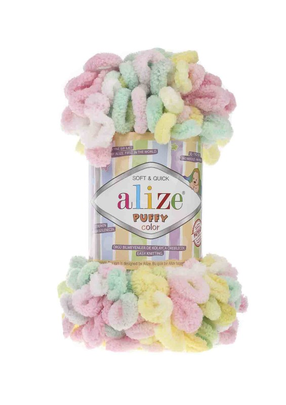 Alize - Alize Puffy Color El Örgü İpi 5862