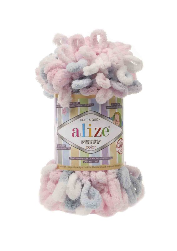 Alize - Alize Puffy Color El Örgü İpi 5864