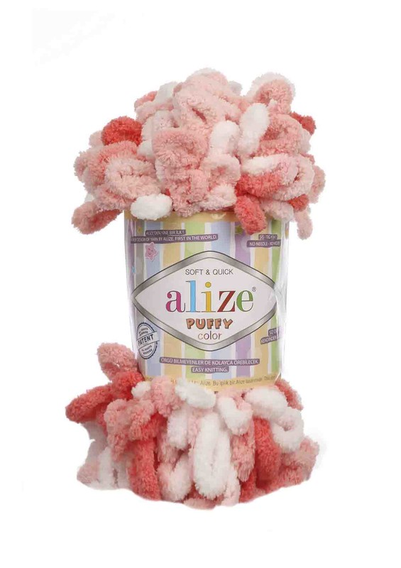 Alize - Alize Puffy Color El Örgü İpi 5922
