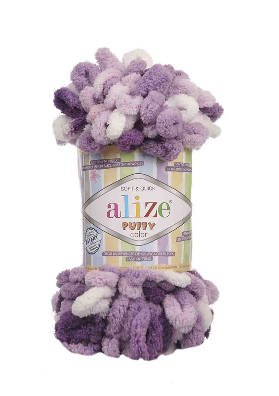 Alize - Alize Puffy Color El Örgü İpi 5923