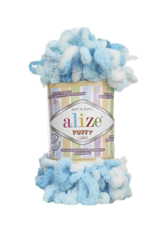 Alize - Alize Puffy Color El Örgü İpi 5924