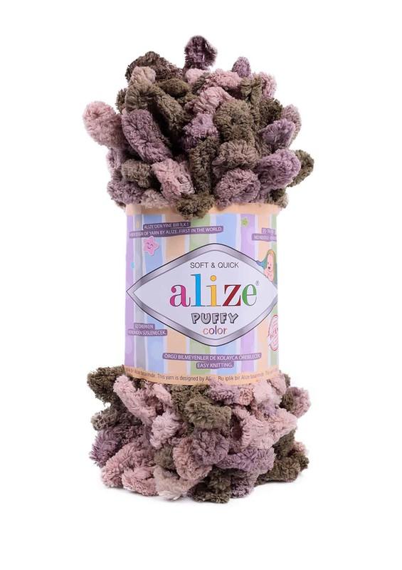 Alize - Alize Puffy Color El Örgü İpi 5875