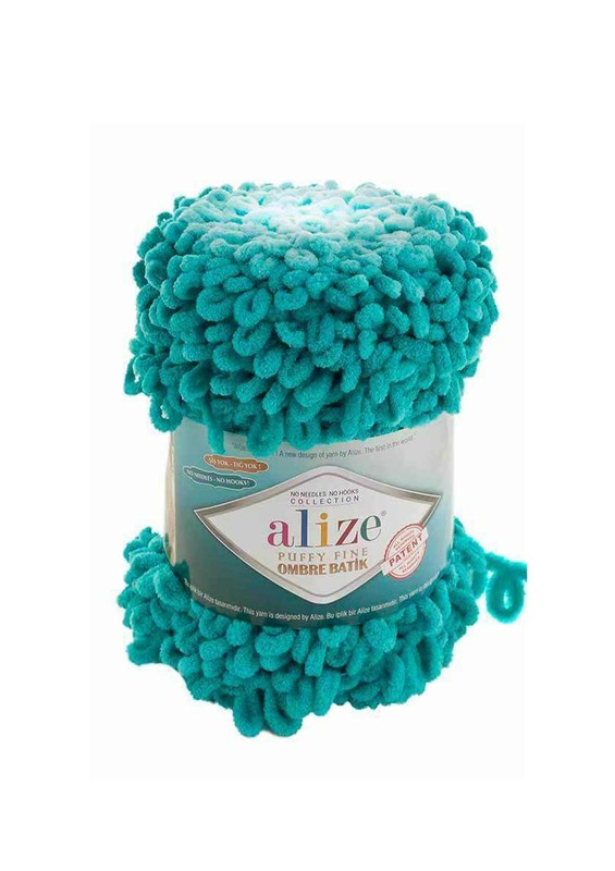 Alize - Alize Puffy Fine Ombre Batik El Örgü İpi 7246