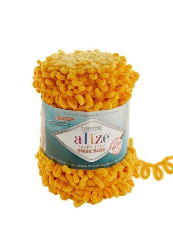 Alize - Alize Puffy Fine Ombre Batik El Örgü İpi 7278