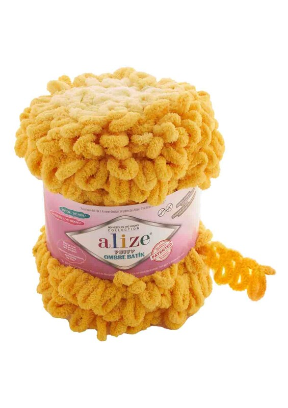 Alize - Alize Puffy Ombre Batik El Örgü İpi | 7417