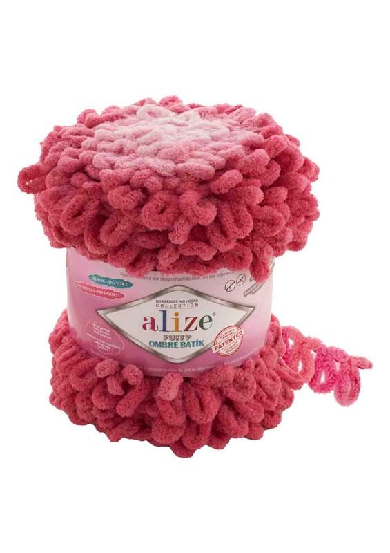 Alize - Alize Puffy Ombre Batik El Örgü İpi | 7418