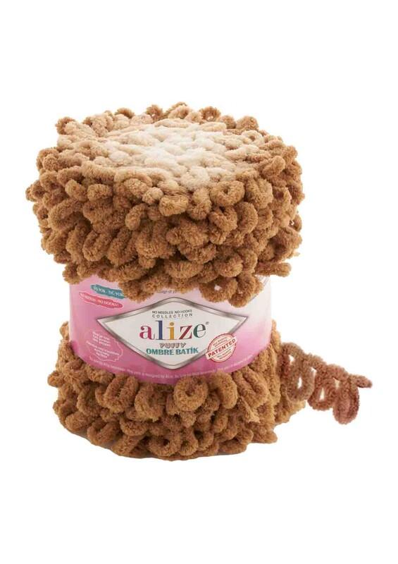 Alize - Alize Puffy Ombre Batik El Örgü İpi | 7419