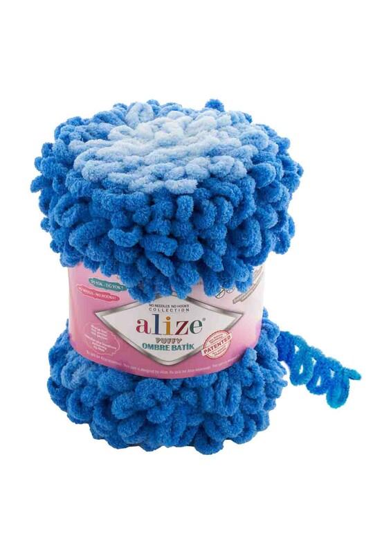Alize - Alize Puffy Ombre Batik El Örgü İpi | 7422