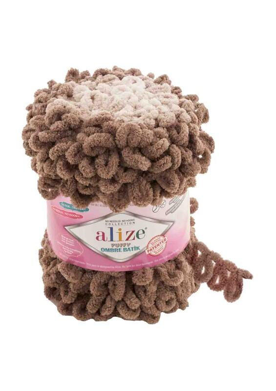 Alize - Alize Puffy Ombre Batik El Örgü İpi | 7424