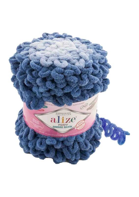 Alize - Alize Puffy Ombre Batik El Örgü İpi | 7425