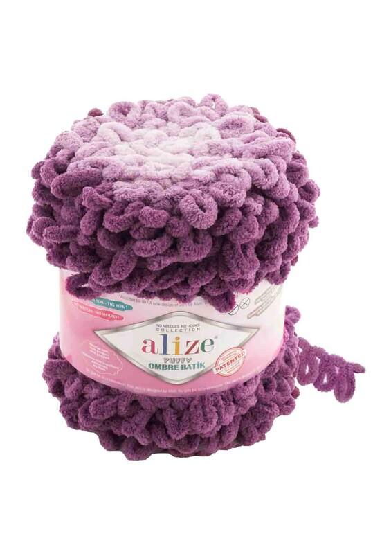 Alize - Alize Puffy Ombre Batik El Örgü İpi | 7427