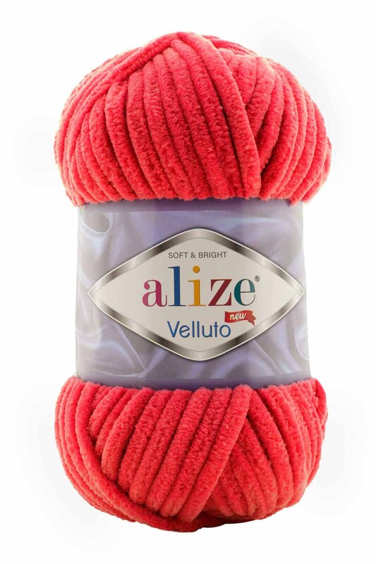 Alize - Alize Velluto El Örgü İpi 100 gr | 056