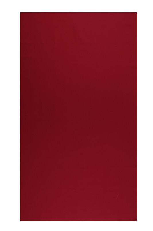 SİMİSSO - Amigurimi Elbise Kumaşı Akfil Pamuk Saten Kumaş 83 Tel | Kırmızı