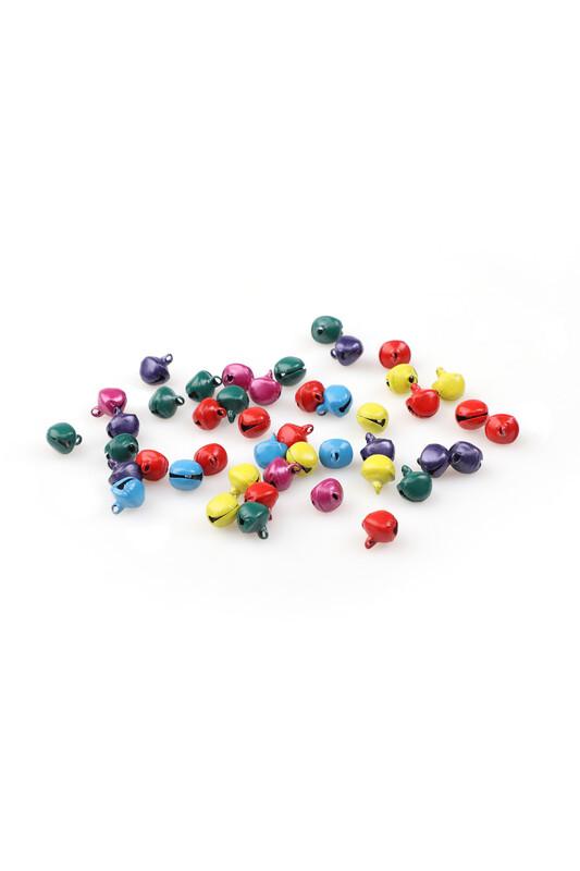 MİR PLASTİK - Amigurumi Zil Çan 8 mm 10 Gram | Karışık Renk