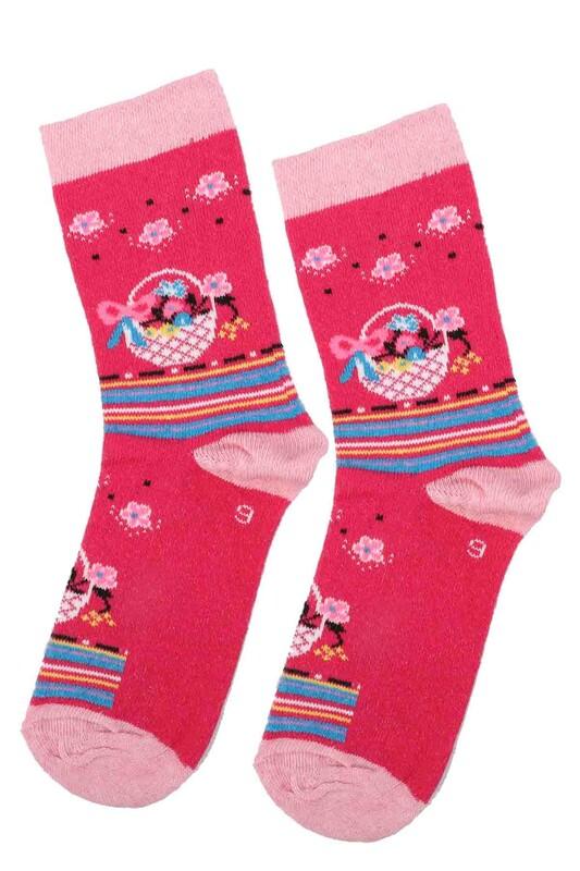 ARC - Arc Kids Kız Çocuk Çorap | Fuşya