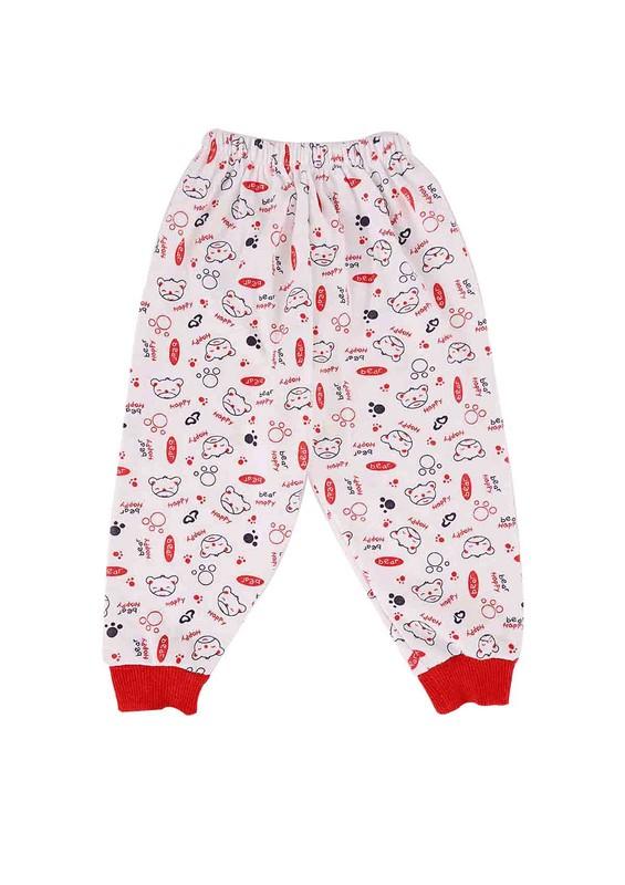 AYMİX BABY - Aymix Pijama Altı 281   Kırmızı