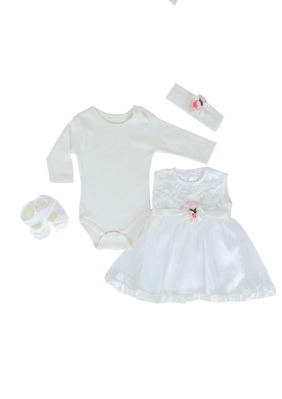 BABY TİNY - Baby Tiny Bebek Takımı 676 | Beyaz