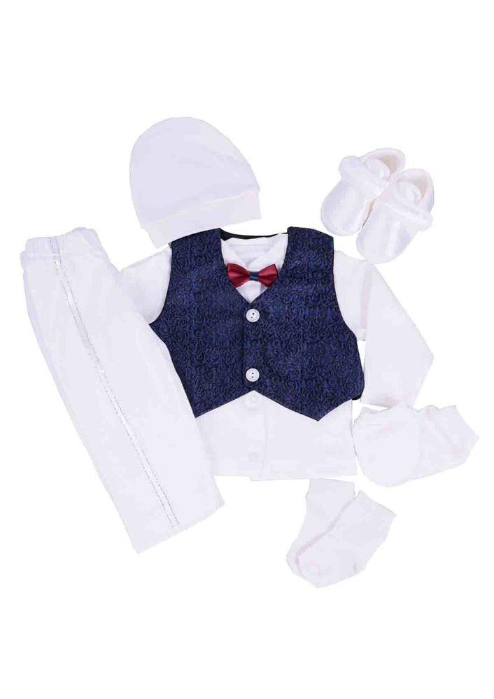 Baby Tiny Zıbın Seti 705   Beyaz