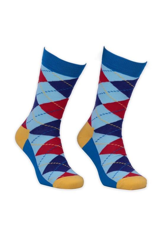 SİMİSSO - Baklava Desenli Kadın Çorap 002
